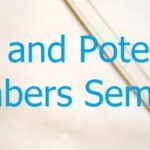 New and Potential Members' Seminar – 11th March, 2017 – Harrow