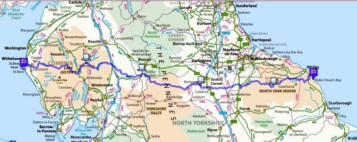 Coast2coast route