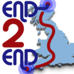 """Wish John, Peter and the End2End Challenge Team """"Good Luck !"""" – Today – 12 noon – Harrow"""