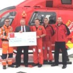 Middlesex Masons Donate Another £4,000 to the London Air Ambulance