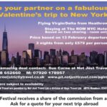 Take your partner on a fabulous Valentine's Trip to New York !