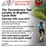 London to Brighton Bike Ride 2017 – Saturday 24th June