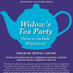 Harrow Progress Lodge, No. 5964 – Host The 3rd Annual Widows Tea Party (now to include Widowers !)