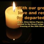 W.Bro. Clive Adrian Pigram, PSGD PAPGM