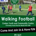 MMSA – Walking Football – This Morning !