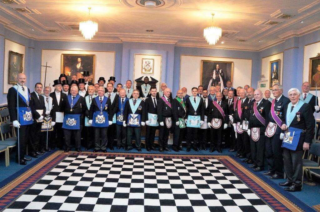 Royal Jubilee Lodge, No. 72 hosts European Masonic Meeting Attendees ...