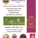 Inter Province Cricket Festival 2017 – Sunday 16th July – Banstead