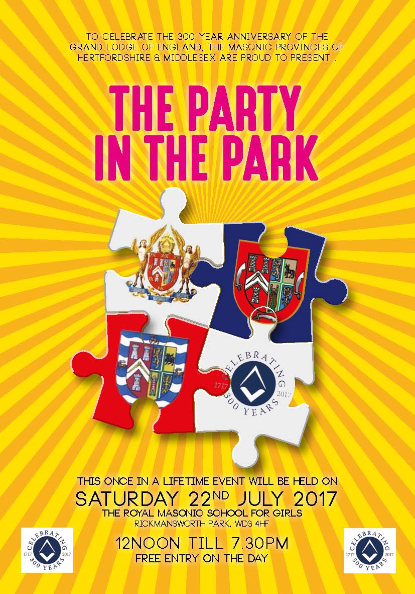 Download Party In The Park Brochure HERE