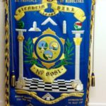 Banner dedication at Blenheim Park Lodge, No. 8981