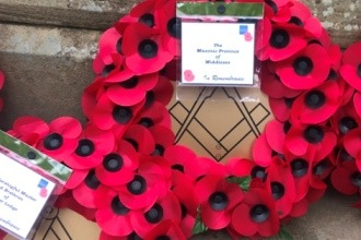 Sunday 12th November 2017 - Remembrance Services