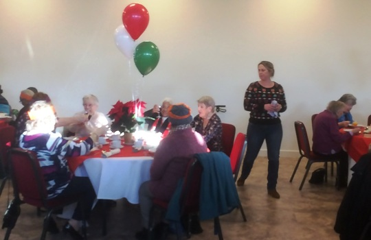 OAP Christmas Lunch