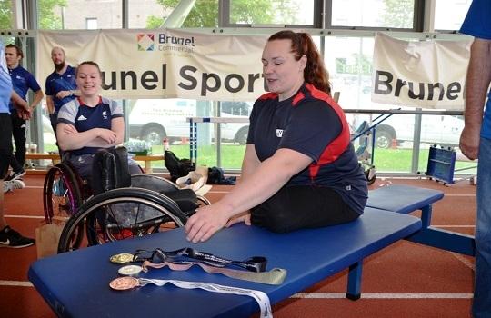 Louise Sugden - GB Powerlifting Gold Medallist
