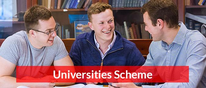 Universities scheme