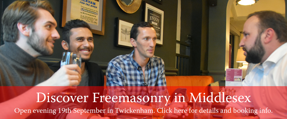 Discover Freemasonry in Middlesex - Click here for details