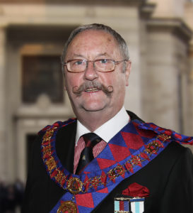 E Comp Martyn P Farrell PGSwdB<br /> Deputy Grand Superintendent