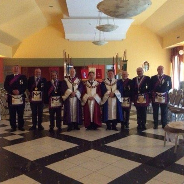 Middlesex Passes The Veils In Hungary Provincial Grand Lodge Of