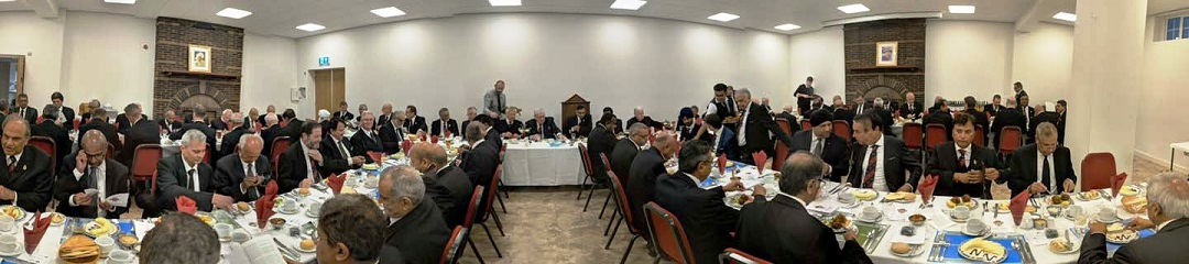Centenary Festive Board attended by 88 diners