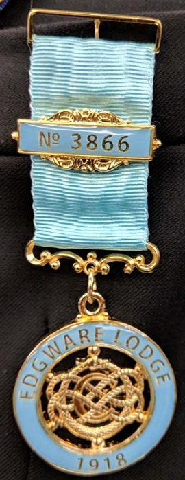 The new Centenary Jewel
