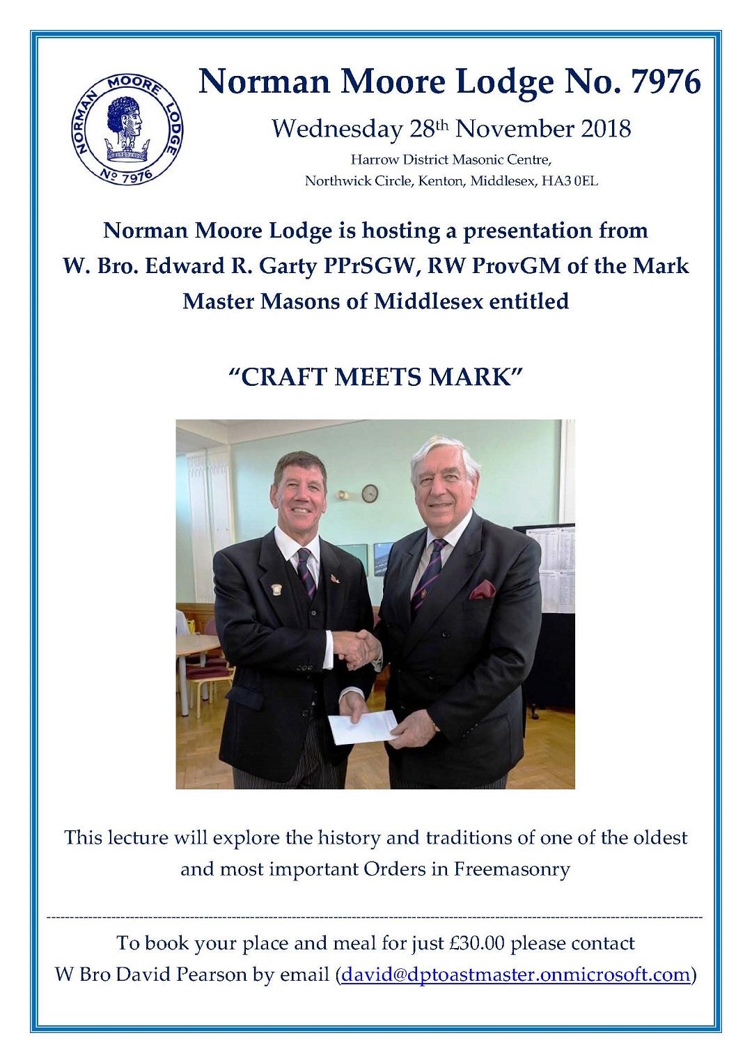 NML Lecture Flyer - Nov '18