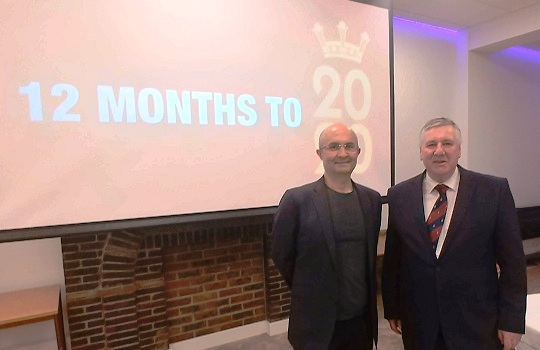 The Chairman and Deputy Chaiman of the Harrow Charity Forum of The 2020 Festival