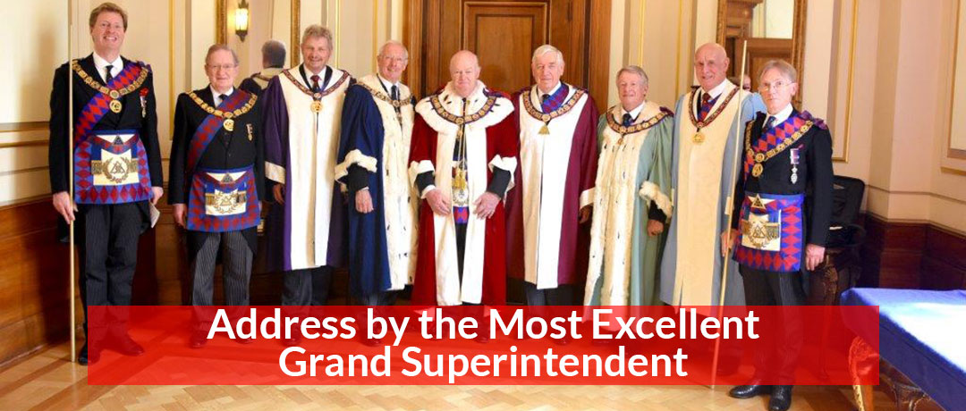 Address by the Most Excellent Grand Superintendent