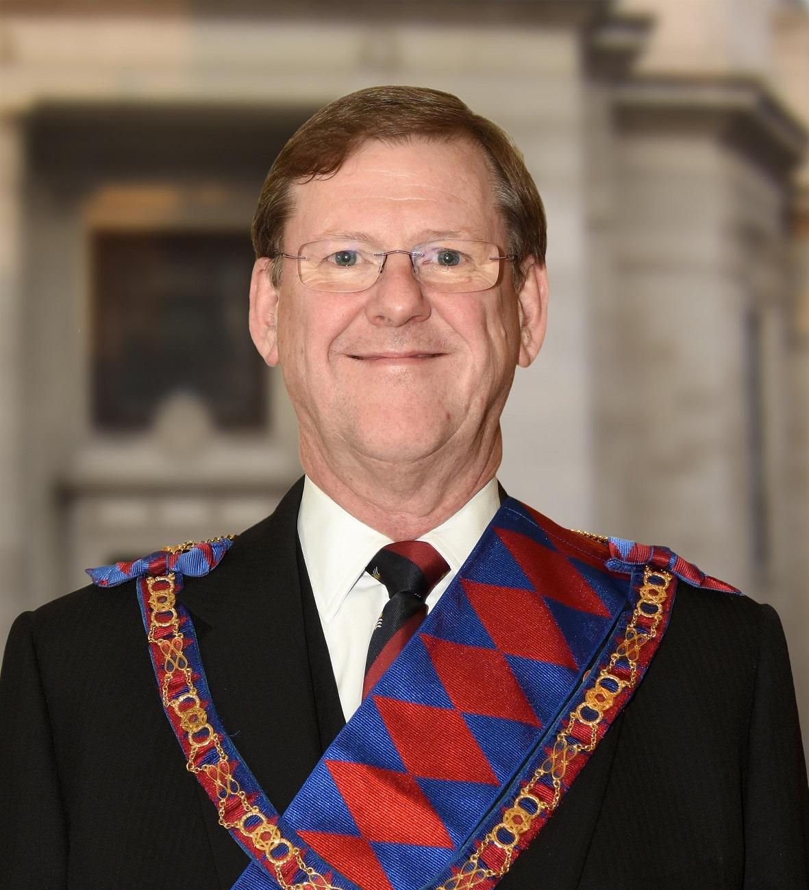 E.Comp. John Eynon PGStB <br />Second Provincial Grand Principal (Designate)