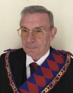 E Comp Peter De Wolfe PGStB <br /> Second Provincial Grand Principal