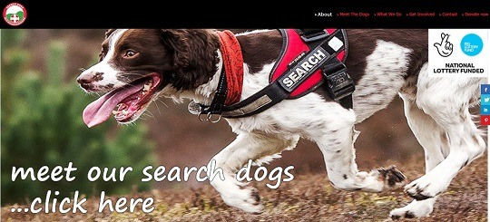 Search Dogs website v2